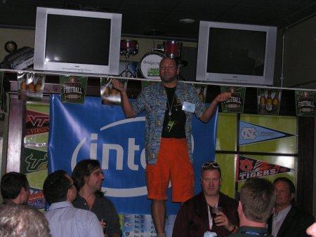 Don Becker on bar