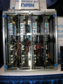 Front view of Tyan Personal Cluster