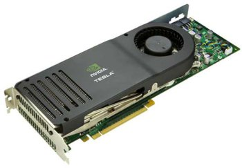 The Tesla HPC/Video Card