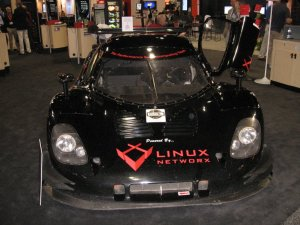 Linux Networx Race Car