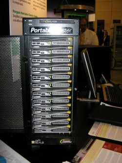 Front View of the Penguin Computing Personal Cluster